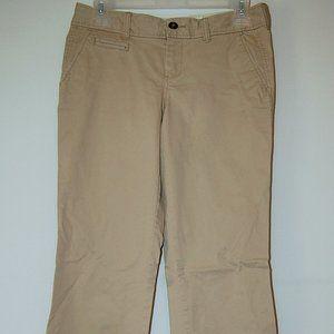 Old Navy Tan Khaki Pants Womens Size 2 Short